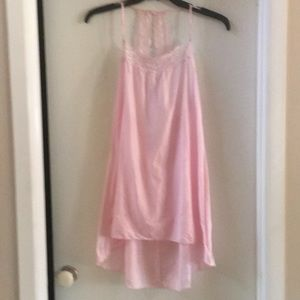EUC sheer Hi-Low Nightgown